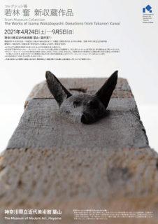 W'UP! ★ [コレクション展]若林 奮 新収蔵作品 神奈川県立近代美術館 葉山 展示室 1