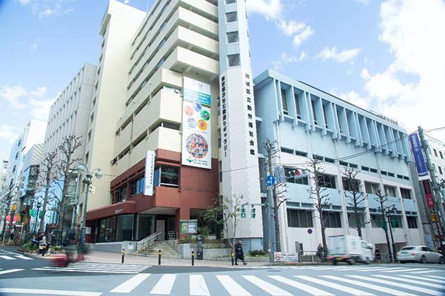 東京都渋谷公園通りギャラリー