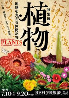 W'UP! ★7月10日~9月20日 特別展「植物 地球を支える仲間たち」 国立科学博物館