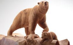 W'UP! ★ 木彫り熊の申し子 藤戸竹喜 アイヌであればこそ 東京ステーションギャラリー