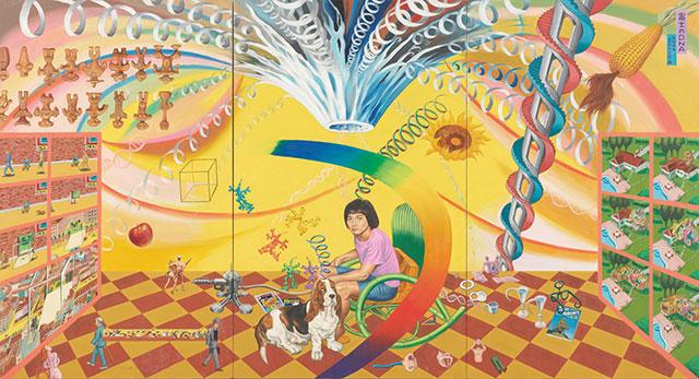 W'UP! ★大・タイガー立石展 POP-ARTの魔術師 千葉市美術館