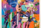 W'UP! ★ 6月4日~6月26日 ロナルド・ヴェンチューラ個展 『Comic Stripes』 ホワイトストーンギャラリー銀座新館