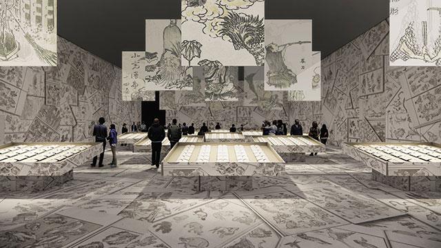 W'UP! ★7月22日~9月17日 生誕260年記念企画 特別展「北斎づくし」 東京ミッドタウン・ホール