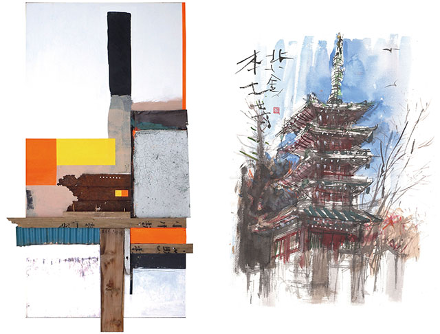 W'UP! ★6月8日~8月15日 須貝仁展~抽象の世界と具象の世界~ 森のホール21アートスペース