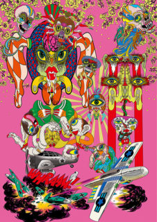 W'UP!★9月2日~10月10日 A peep into KEIICHI TANAAMI 田名網敬一レンチキュラー発売記念展 NADiff Gallery