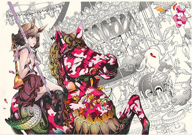 W'UP! ★9月7日~9月29日 Manga Art Exhibition / Oh! great 大暮維人 Boxed Beauty/10月1日~10月27日 三好和義写真展『世界の楽園・奄美 沖縄』 エプソンスクエア丸の内 エプサイトギャラリー